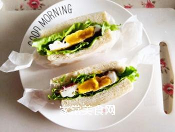 三明治的做法步骤:10