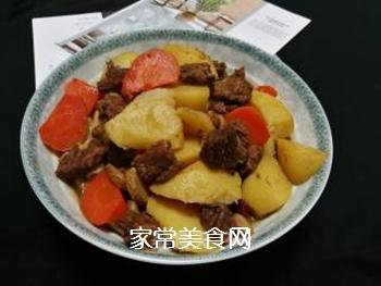 土豆炖牛肉的做法步骤:8