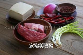 豆花牛肉的做法步骤:1
