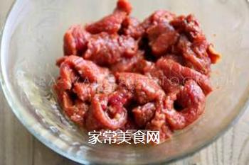 豆花牛肉的做法步骤:3