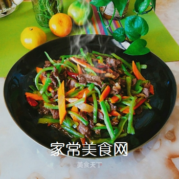 蛇瓜炒牛肉的做法