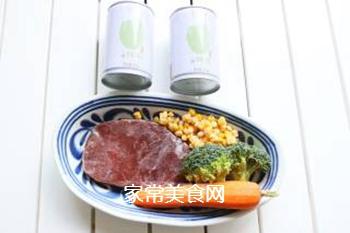 时蔬牛肉炒饭的做法步骤:1