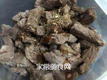 香辣牛肉的做法步骤:4