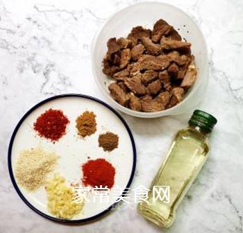 香辣牛肉的做法步骤:5