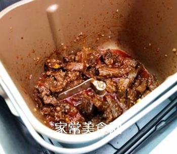 香辣牛肉的做法步骤:11