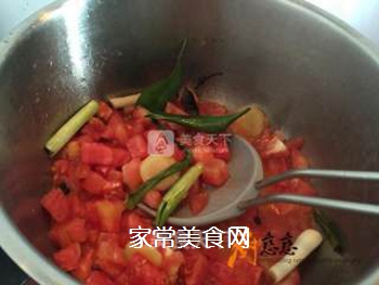 番茄牛肉的做法步骤:5
