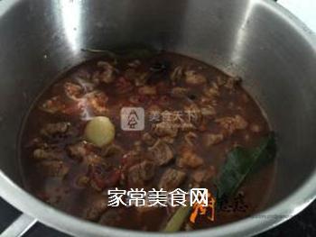 番茄牛肉的做法步骤:6