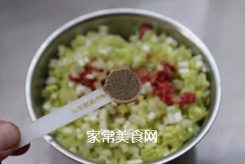 对抗寒冷的高热量――牛肉韭黄煎包的做法步骤:6