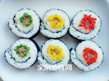金枪鱼寿司的做法步骤:8