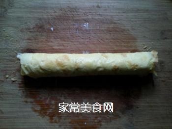富贵黄金肉松卷的做法步骤:10