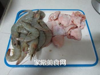 #信任之美#干锅鸡翅虾的做法步骤:1