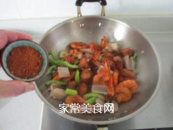 #信任之美#干锅鸡翅虾的做法步骤:11
