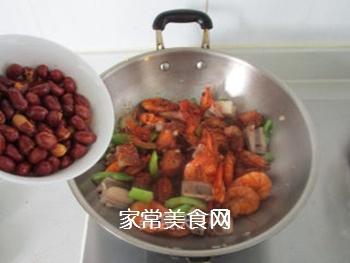 #信任之美#干锅鸡翅虾的做法步骤:12