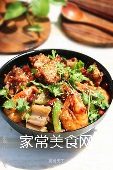 #信任之美#干锅鸡翅虾的做法
