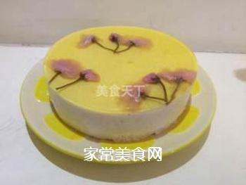 樱花慕斯蛋糕的做法步骤:16