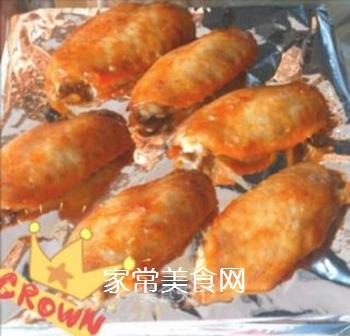 蜜汁奥尔良鸡翅的做法步骤:5