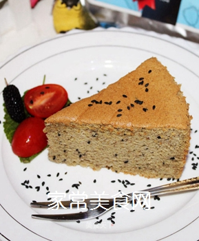 益元八珍戚风蛋糕的做法