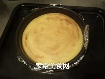 榴莲焦糖重乳酪蛋糕的做法步骤:16