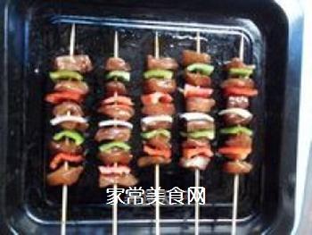 缤纷烤肉串的做法步骤:6