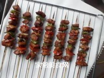 缤纷烤肉串的做法步骤:8