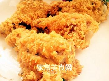 无油脆皮鸡腿/自制健康版KFC炸鸡的做法