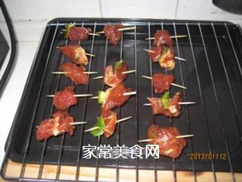 轻松美味牙签肉的做法步骤:2