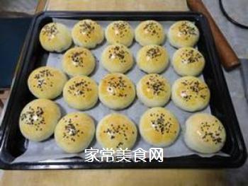 椒盐黑芝麻酥饼的做法步骤:22