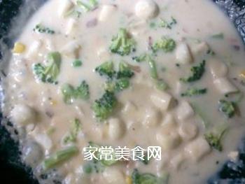 情人节惊喜――奶油酥皮汤的做法步骤:4