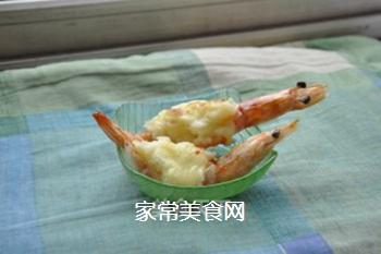 芝士�h大虾的做法步骤:4