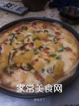 夏威夷大虾披萨的做法