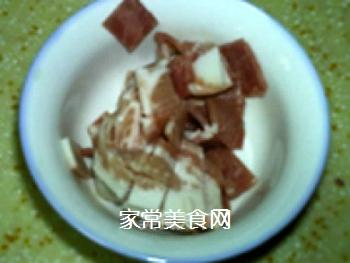 �h培根批萨土豆泥的做法步骤:2