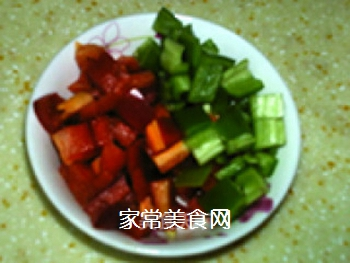 �h培根批萨土豆泥的做法步骤:3