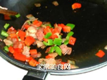 �h培根批萨土豆泥的做法步骤:5