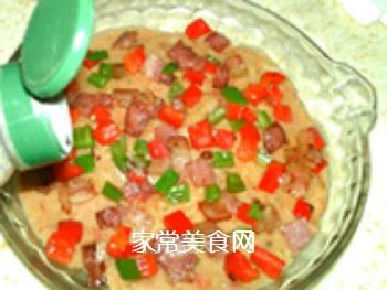 �h培根批萨土豆泥的做法步骤:10