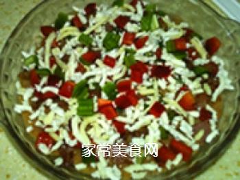 �h培根批萨土豆泥的做法步骤:11