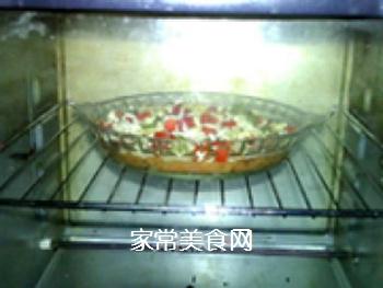 �h培根批萨土豆泥的做法步骤:12