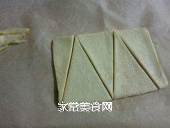 小小酥皮牛角包的做法步骤:2