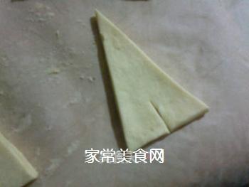 小小酥皮牛角包的做法步骤:3