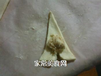 小小酥皮牛角包的做法步骤:4