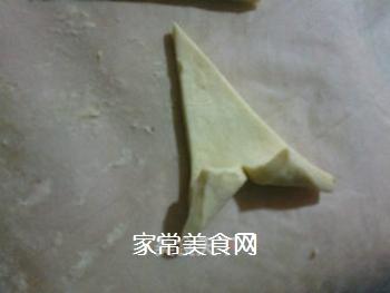 小小酥皮牛角包的做法步骤:5
