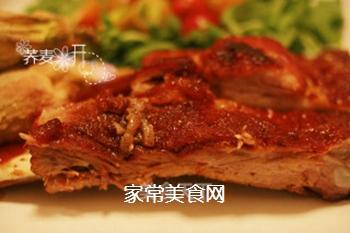 【烤箱慢烤】入口即化的香甜烧烤酱肋排~的做法步骤:8
