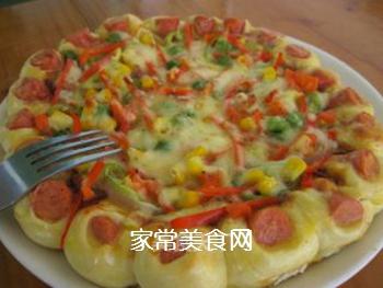 新奥尔良鸡肉披萨的做法步骤:11