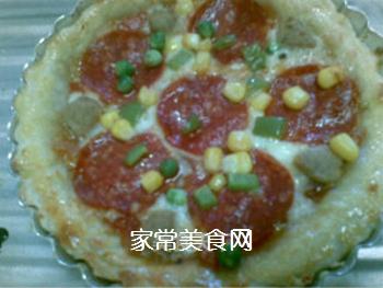 意味深情,餐厅美味――在家自制披萨的做法步骤:8