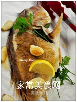 柠檬烤鱼的做法步骤:1