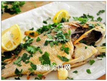 柠檬烤鱼的做法步骤:2