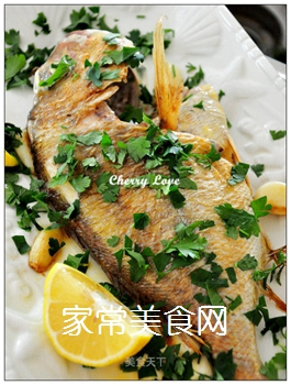 柠檬烤鱼的做法