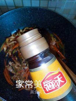 鱼香肉丝炒饭的做法步骤:5