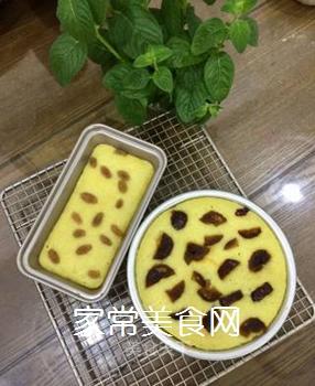 玉米面牛奶发糕的做法步骤:9
