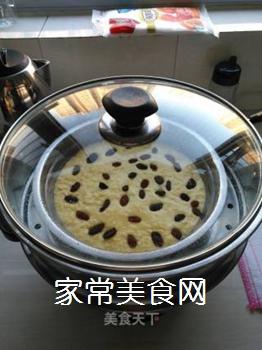老杨的南瓜发糕的做法步骤:12