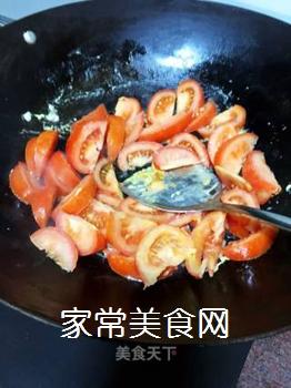 牛肉炒番茄的做法步骤:7